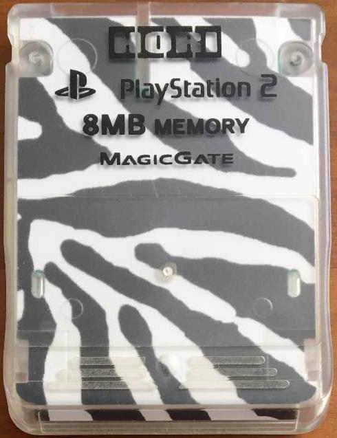 4961818001404 送料無料 正規品スーパーSALE×店内全品キャンペーン 中古 PS2 プレイステーション2 ゼブラ PlayStation2専用 18%OFF 迷彩 メモリーカード8MB ホリ