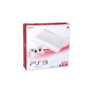 【送料無料】【中古】PS3 PlayStation 3 クラシック・ホワイト 250GB (CECH-4200BLW) 本体 プレイステーション3(箱説付き)