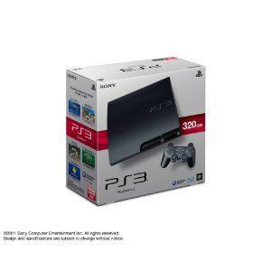 【送料無料】【中古】PS3 PlayStation 3 (320GB) チャコール・ブラック (CECH-3000B) 本体 プレイステーション3(箱説付き)