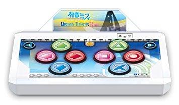 【送料無料】【中古】PS3 プレイステーション3 【HORI】初音ミク -Project DIVA- ドリーミーシアター2nd 専用コントローラ(PS3用)