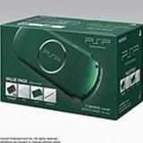 【送料無料】【中古】PSP「プレイステーション・ポータブル」 バリュー・パック スピリティッド・グリーン (PSPJ-30004) (箱説付き)