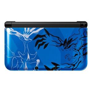 【送料無料】【中古】3DS ニンテンドー3DS LL ポケットモンスター Xパック ゼルネアス・イベルタル ブルー 本体 任天堂