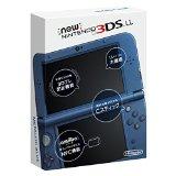 【送料無料】【中古】3DS Newニンテンドー3DS LL メタリックブルー(箱説付き)