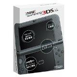 【送料無料】【中古】3DS New ニンテンドー3DS LL メタリックブラック(箱説付き)