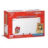 【送料無料】【中古】3DS ニンテンドー3DS LL 妖怪ウォッチ ジバニャンパック データカードダス&限定カード特典同梱