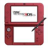 【訳あり】【送料無料】【中古】3DS Newニンテンドー3DS LL メタリックレッド 本体 任天堂