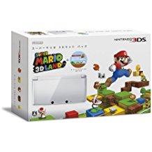 【送料無料】【中古】3DS スーパーマリオ 3Dランド パック(アイスホワイト)