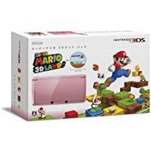 【送料無料】【中古】3DS ニンテンドー3D スーパーマリオ 3Dランド パック (ミスティピンク)