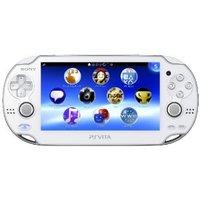 【送料無料】【中古】PlayStation Vita Wi‐Fiモデル クリスタル・ホワイト (PCH-1000 ZA02) 本体 プレイステーション ヴィータ