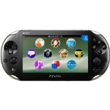 【送料無料】【中古】PlayStation Vita Wi-Fiモデル カーキ/ブラック (PCH-2000ZA16) 本体 プレイステーション ヴィータ(箱説付き)