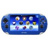 【送料無料】【中古】PlayStation Vita (プレイステーション ヴィータ) サファイア・ブルー (PCH-1000 ZA04) 本体(箱説付き)
