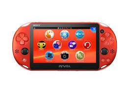 【送料無料】【中古】PlayStation Vita Wi-Fiモデル PlayStation Vita Wi-Fiモデル メタリック・レッド