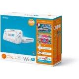 【欠品あり】【送料無料】【中古】Wii U すぐに遊べるファミリープレミアムセット(シロ) 白 任天堂 本体(マリオU、パーティーU内蔵)