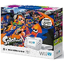 【送料無料】【中古】Wii U プレミアムセット shiro (WUP-S-WAFC) シロ 白 任天堂(スプラトゥーン内蔵)(箱説付き)
