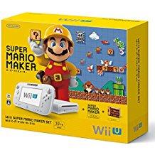 【送料無料】【中古】Wii U スーパーマリオメーカー セット 本体(箱説付き)