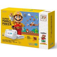 【送料無料】【中古】Wii U スーパーマリオメーカー スーパーマリオ30周年セット(箱説付き)