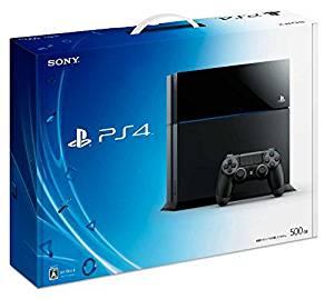 【欠品あり】【送料無料】【中古】PS4 PlayStation 4 ジェット・ブラック 500GB (CUH-1100AB01) 本体のみ、コントローラー、ケーブルなし