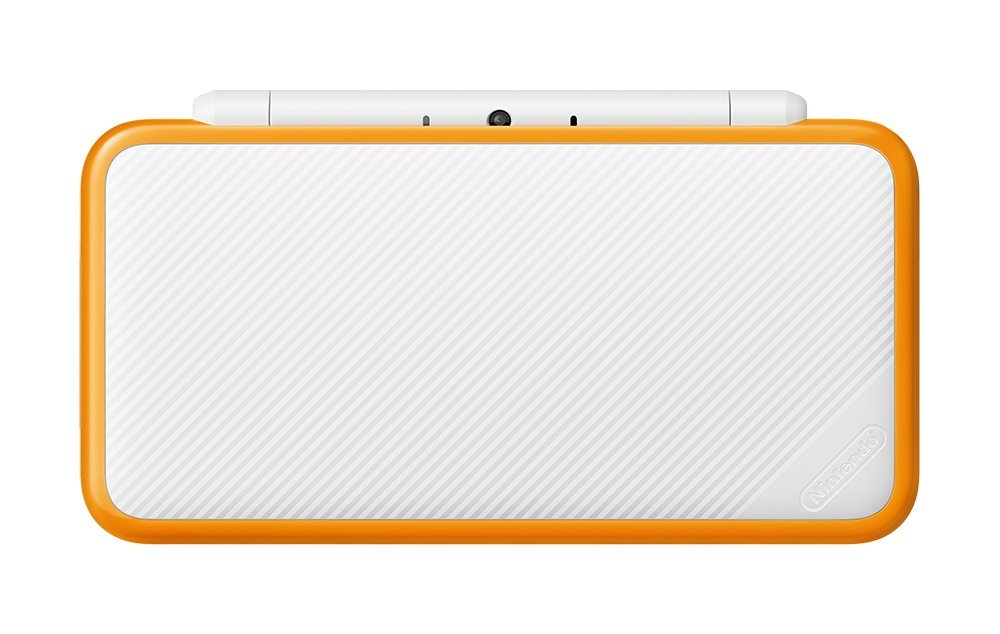 【送料無料】【中古】2DS Newニンテンドー2DS LL ホワイト×オレンジ 本体