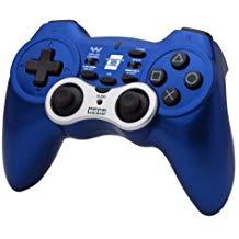 【送料無料】【中古】PS3 プレイステーション 3 ワイヤレスホリパッド3 ターボ ブルー