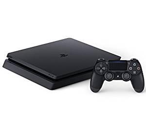 4948872414647 【送料無料】【中古】PS4 PlayStation 4 ジェット・ブラック 500GB (CUH-2200AB01) プレイステーション4(箱説付き)