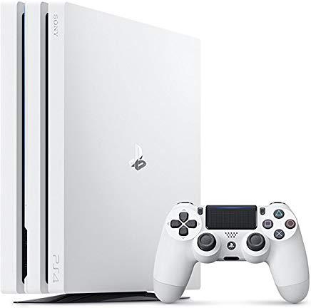 4948872414500 【送料無料】【中古】PS4 PlayStation 4 Pro グレイシャー・ホワイト 1TB (CUH-7000BB02)