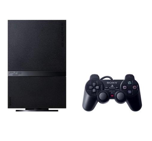 【送料無料】【中古】PS2 PlayStation 2 アジア版 プレイステーション2 本体 (チャコールブラック) SCPH-75006
