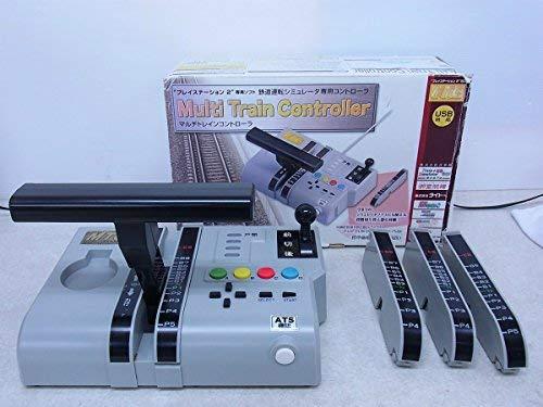 【送料無料】【中古】PS2 プレイステーション2 Multi Train Controller (マルチトレインコントローラ) 電車(箱説付き)