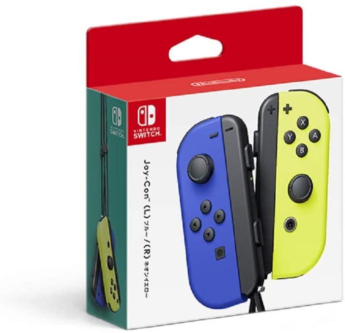 4902370544060 送料無料 中古 Nintendo Switch Joy-Con ジョイコン R ネオンイエロー L スイッチ 秀逸 ブルー ディスカウント