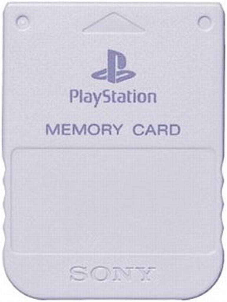 4948872010153 【送料無料】【中古】PS プレイステーション メモリーカード(ライト・グレー)