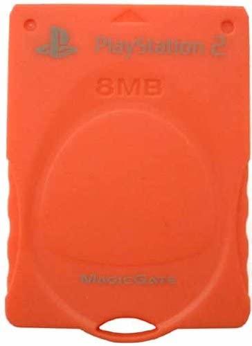 4906571442927 【送料無料】【中古】PS2 プレイステーション2 PlayStation2専用 MEMORY CARD ウォームレッド メモリーカード MAGIC GATE