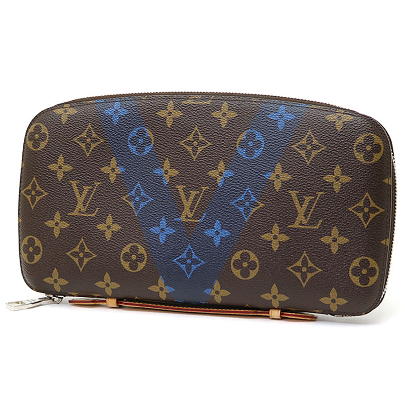 3b3e717b2850 Louis Vuitton M61172 アトールモノグラム V blue V motif travel case second bag men bag  clutch organizer LV ORGANIZER ATOLL MONOGRAM V BLUE