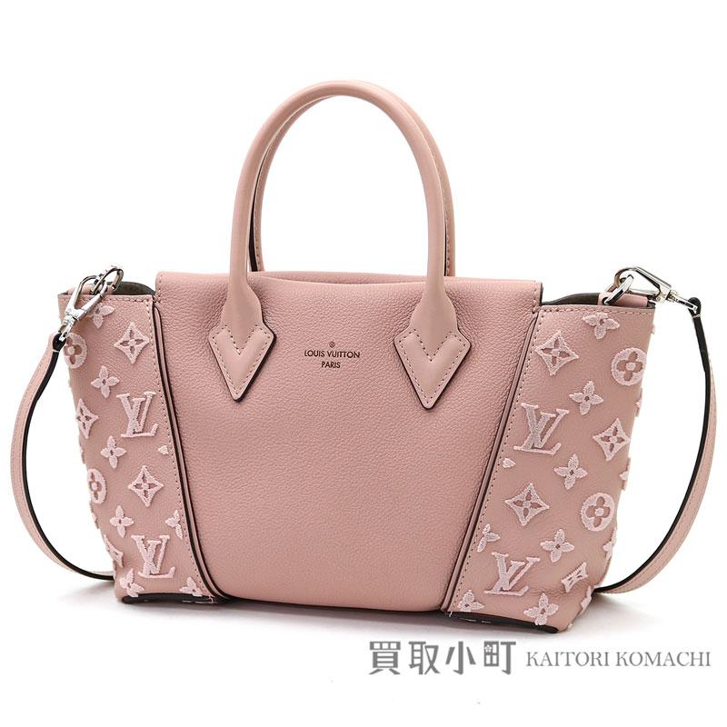 Louis Vuitton M94639 Thoth W BB モノグラムヴェルールマグノリアヴォーカシミールレザーモノグラムタフタージュ 2WAY shoulder bag tote bag LV TOTE W BB MONOGRAM MAGNOLIA BAG