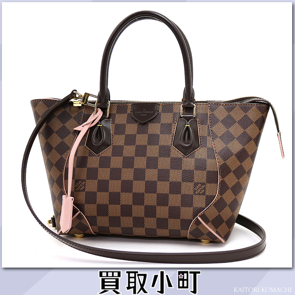 Louis Vuitton N41554 カイサトート PM ダミエローズバレリーヌトートバッグ 2WAY shoulder bag handbag pink LV CAISSA TOTE PM DAMIER EBENE ROSE BALLERINE TOTE BAG