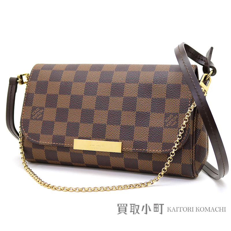 Take Louis Vuitton N41276 Feh Wart Ritt Pm ダミエ 2way Shoulder Bag Crossbody Pochette Slant Lv Favorite Damier