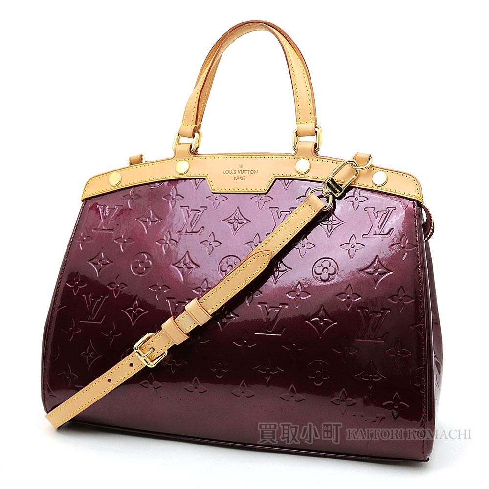 Louis Vuitton M91690 Blair Mm モノグラムヴェルニルージュフォーヴィスト 2way Shoulder Bag Tote Handbag Doctors Lv Brea Monogram Vernis