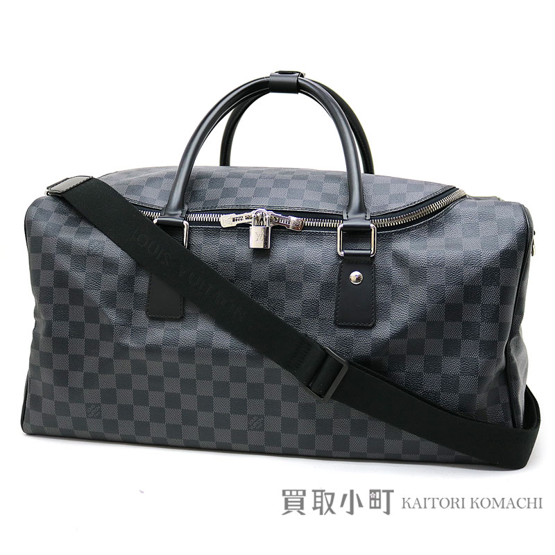0db9c15af7ab Louis Vuitton N48189 roadster 50 ダミエグラフィットボストンバッグトラベルバッグ trip bag men LV  ROADSTER DAMIER GRAPHITE