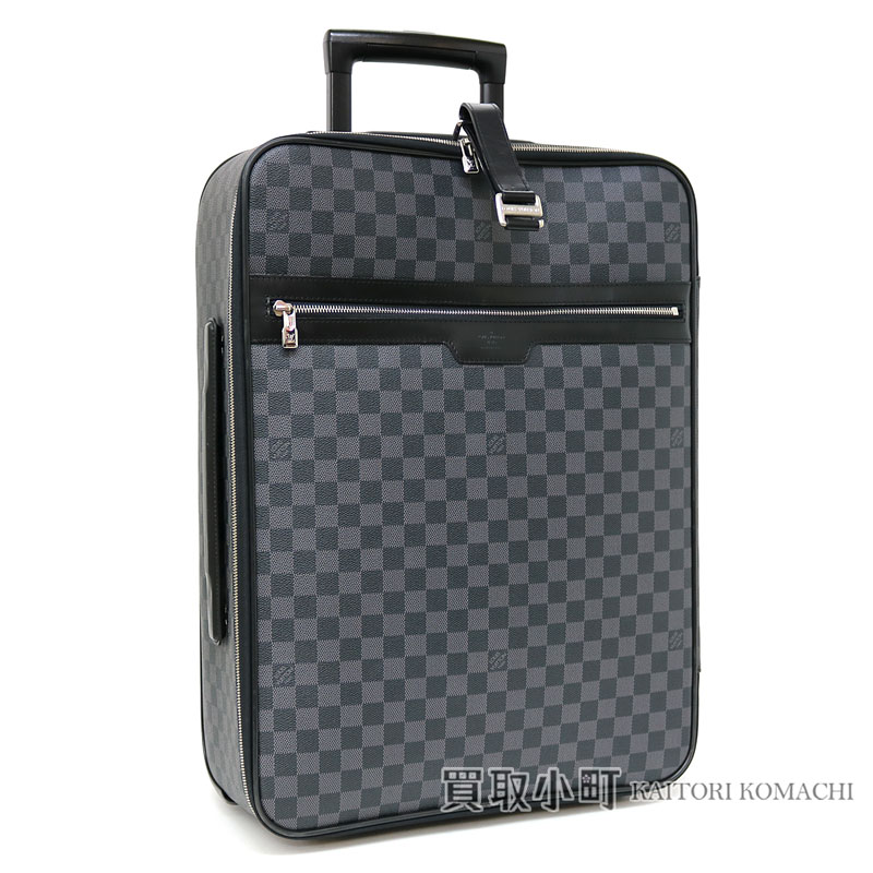 da349fa76111 Trip bag travel kolo kolo cart LV Pegase 55 Damier Graphite Travel Rolling  Luggages with Louis Vuitton N23299 ペガス 55 ダミエグラフィットキャリーケース ...