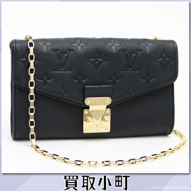 Louis Vuitton M60638 pochette Saint-Germain monogram  アンプラントノワールチェーンウォレットショルダーバッグ wallet wallet black LV POCHETTE SAINT GERMAIN  ...