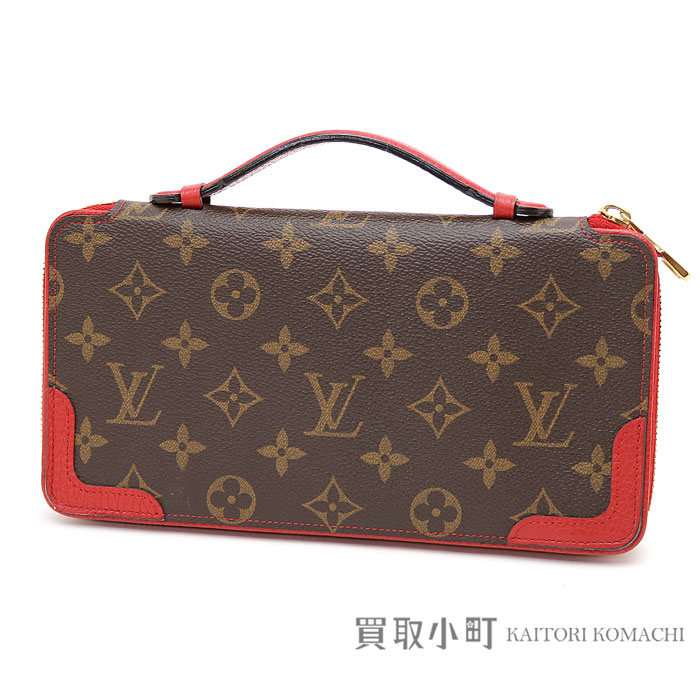 e73629e4fc Louis Vuitton M61452 daily organizer monogram three calf-leather travel  case second bag clutch bag long wallet wallet LV Daily Organiser Travel  case ...