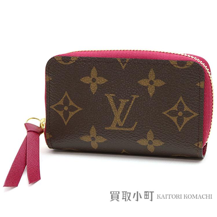 986494848f7d Louis Vuitton M61299 ミュルティカルトモノグラムフューシャラウンドファスナーコインケースカードケース coin purse  wallet サイフジッピー LV ZIPPY MULTICARTES ...