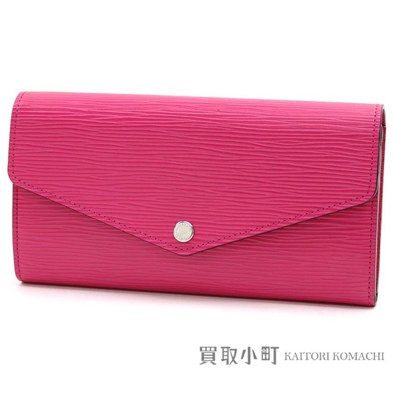 1e37aa21d05b6 Head wallet エンヴェロップ type flap wallet wallet act type LV SARAH WALLET EPI  HOT PINK belonging to Louis Vuitton M41958 ポルトフォイユサラエピホット ...