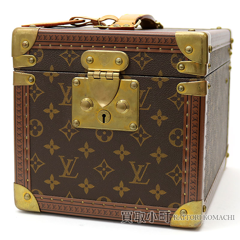 innovative design 61226 65994 Louis Vuitton M21828 ボワットフラコンモノグラムメイクボックスバニティケース makeup case cosmetics box  trunk interior LV LV ...