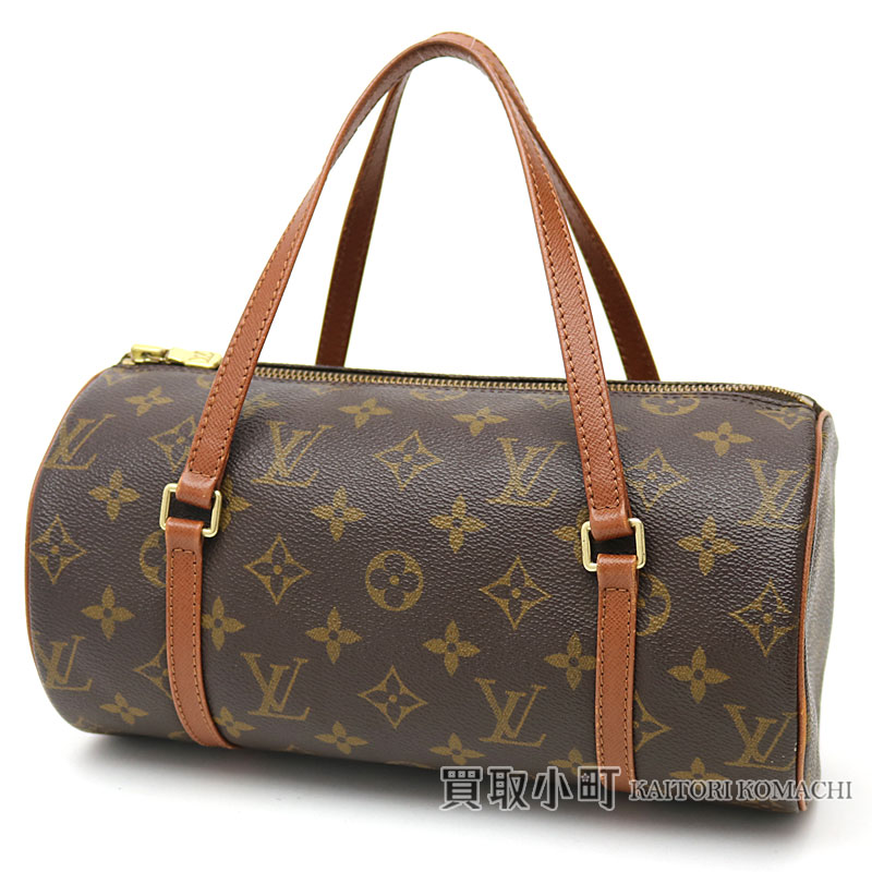 640904a8cdd KAITORIKOMACHI: Louis Vuitton M51366 papillon 26 monogram handbag old type  barrel LV PAPILLON MONOGRAM | Rakuten Global Market