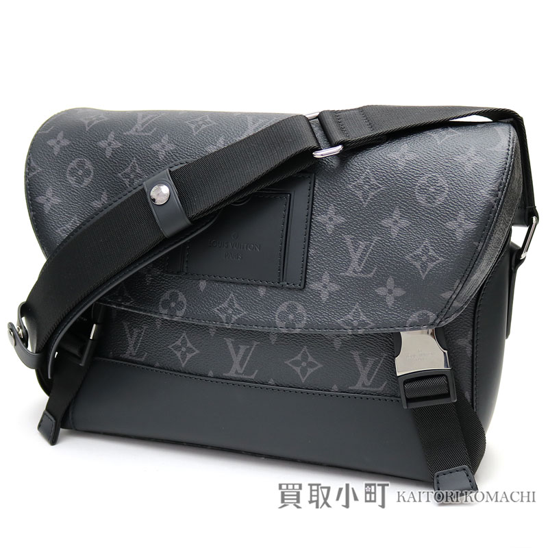 Take a Louis Vuitton M40511 メッセンジャーヴォワヤージュ PM monogram eclipse messenger bag  men shoulder bag slant  LV MESSENGER PM VOYAGER MONOGRAM ECLIPSE a44d16a642314
