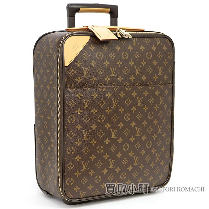 bd39d239b KAITORIKOMACHI: Trip bag travel kolo kolo cart LV PEGASE 45 TRAVEL ROLLING  LUGGAGES MONOGRAM with the Louis Vuitton M23293 ペガス 45 monogram carry case  ...