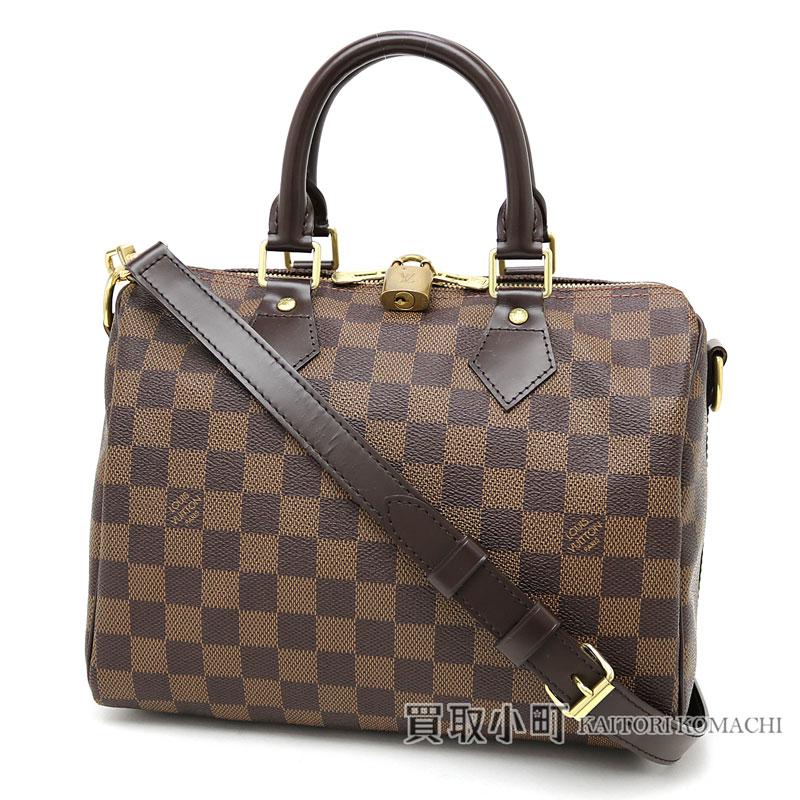 6c9adf77 Speedy 25 LV SPEEDY BANDOULIERE 25 DAMIER with Louis Vuitton N41181 speedy  band re-yell 25 ダミエアイコンボストンバッグ 2WAY shoulder bag handbag strap
