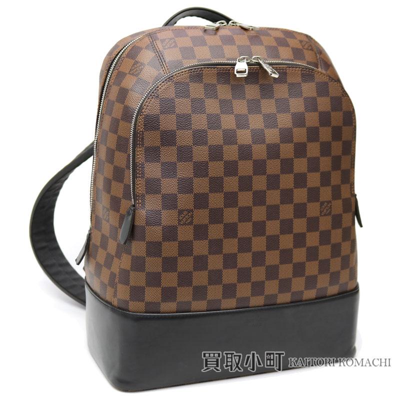 61655cd5e0b Louis Vuitton N41558 ジェイクバックパックダミエメンズバックパックリュックサックデイパックサックアド LV JAKE  BACKPACK DAMIER EBENE