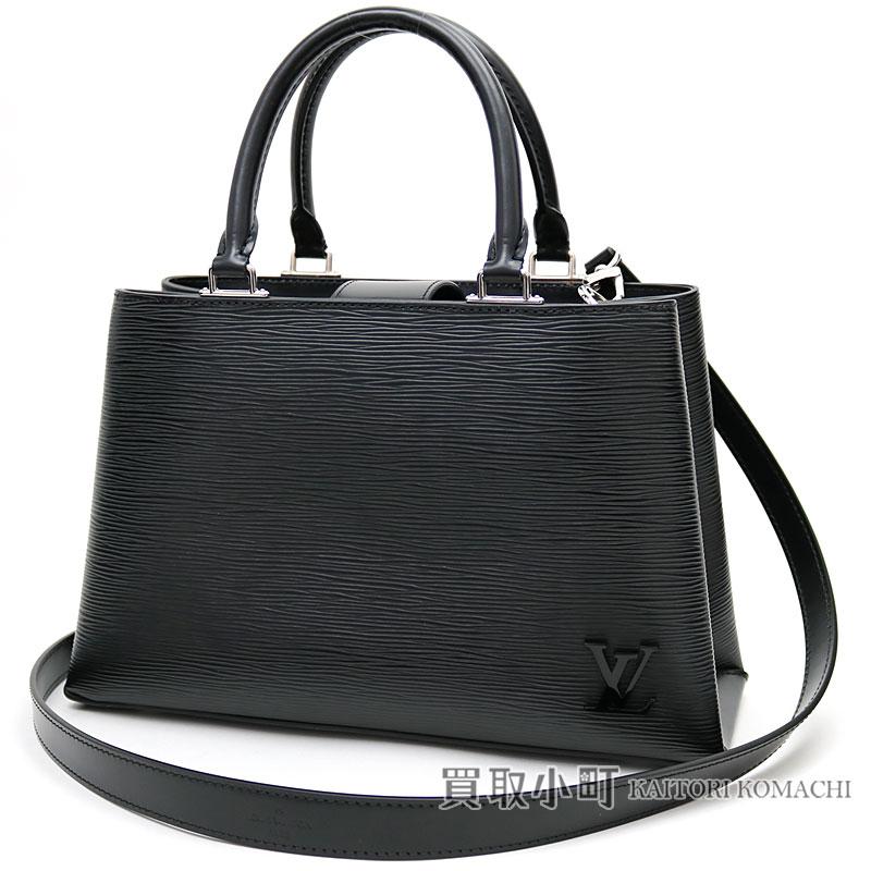 9e5c9dca0a2 Louis Vuitton M51334 Kleber PM エピノワールシルバー metal fittings tote bag handbag  2WAY shoulder bag LV KLEBER PM EPI NOIR TOTE BAG