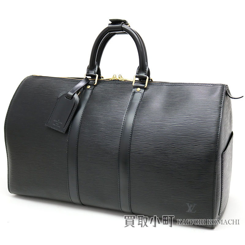 2f4b1269c2ddd KAITORIKOMACHI  Louis Vuitton M59152 key Poll 45 エピノワールボストンバッグ trip bag  travel bag black LV KEEPALL 50 EPI NOIR BAG