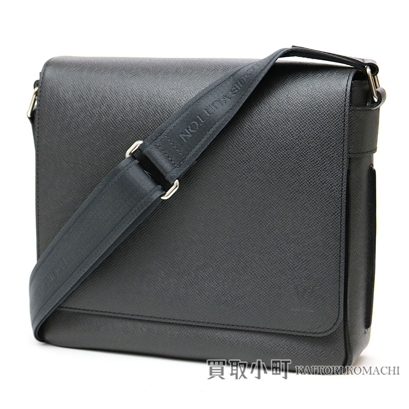 buy popular f3771 f074d Take Louis Vuitton M32852 romance PM タイガアルドワーズメンズメッセンジャーバッグショルダーバッグ slant;  gray leather LV Roman PM Taiga